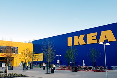 Ikea produced 1,810 GWh of renewable energy in 2014, a 27% increase compared with the year before (photograph: Ikea)