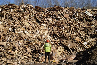 The regulator has warned councils that it will have to reduce its waste crime work (photograph: Environment Agency)