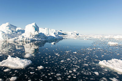 The rapidly warming Arctic gives it increasing political importance, the Lord's report says (photograph: Andreas Altenburger/123RF)
