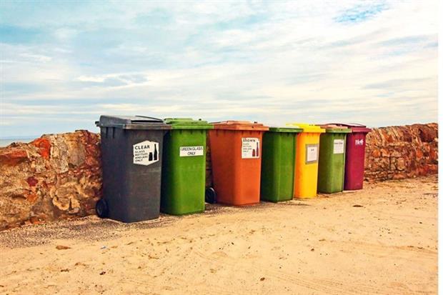 Scotland has too many coloured bins, says Scottish environment secretary Richard Lochhead (photograph: julietphotography/123RF)