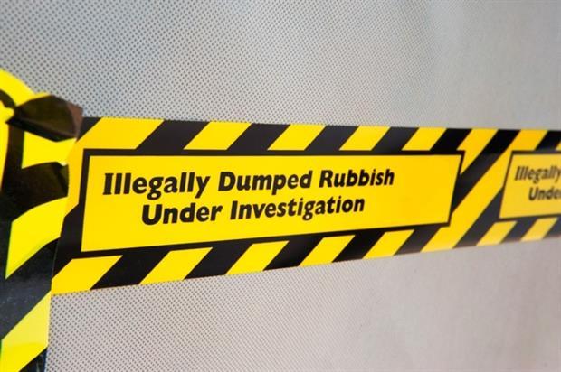 Waste crime tape (photograph: Ricky Corey/123RF)