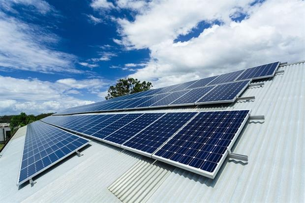 Commercial solar projects of up to 1MW no longer require planning permission (photograph: zstockphotos/123RF).