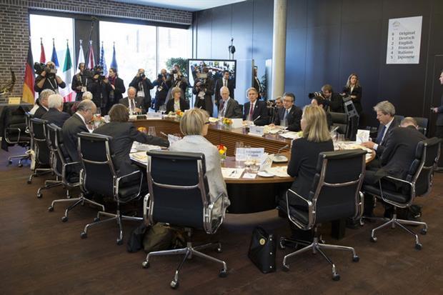 The G7 met last week in Lübeck, Germany (photo: G7)