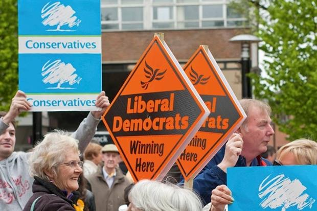 Five years of a Conservative-Liberal Democrat coalition have proved a mixed bag for the environment (photograph: Jonathan Ball/Alamy)