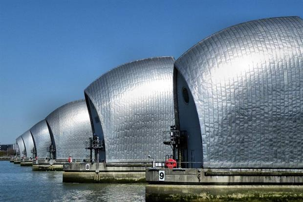 The Thames Barrier (photograph: R~P~M/CC BY-NC-ND 2.0 via Flickr)