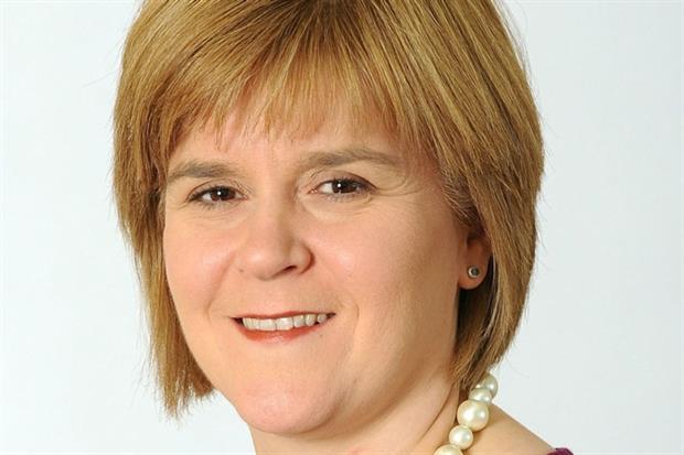 Nicola Sturgeon, leader of the Scottish National Party (photograph: Scottish government)