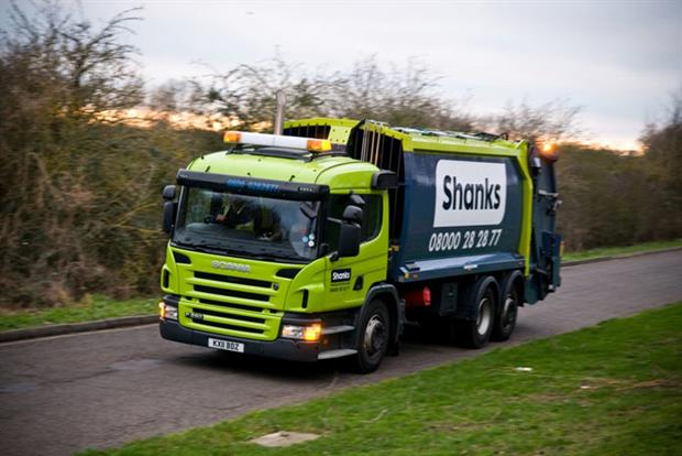 Shanks has launched its first green bond issue worth €150m (photograph: Shanks)