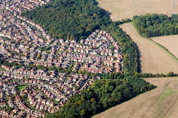 CPRE says developers hold on to land (photograph: Steven Heap/123RF)