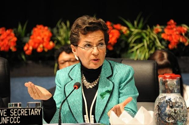 UNFCCC chief executive Christiana Figueres stressed parallel national, regional and business actions are needed to boost negotiations (photograph: UNFCCC)