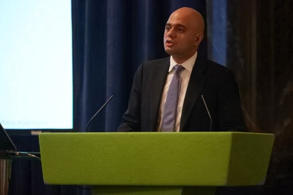 Business secretary Sajid Javid signalled a sell-off of government shares in the Green Investment Bank ahead of a new funding model