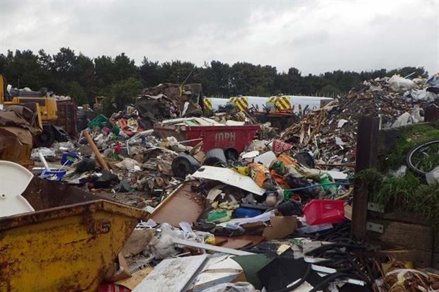 Waste enforcement laws have changed in England and Wales (Photograph: Environment Agency)