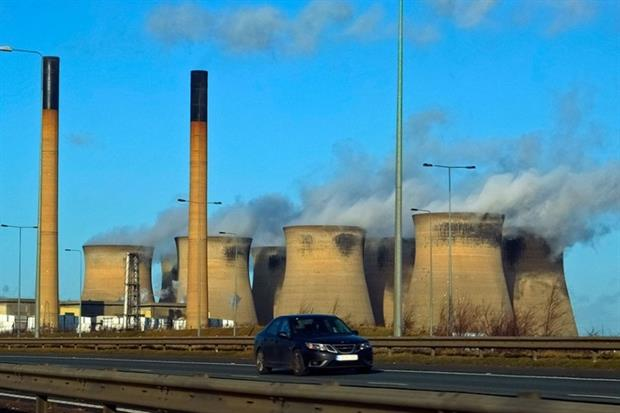 Eggborough power station in North Yorkshire is due to close in March 2016 (photograph: Rob Faulkner/CC BY 2.0)