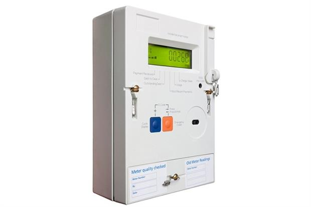 Domestic smart meter (photograph: Darren Pullman/123RF)