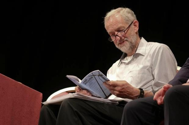 Jeremy Corbyn has endorsed the Campaign Against Climate Change's One Million Climate Jobs manifesto (photo: Campaign Against Climate Change)