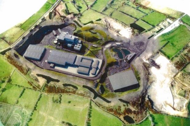 The Arc21 energy from waste plant would have been built in a quarry (image: Arc21)