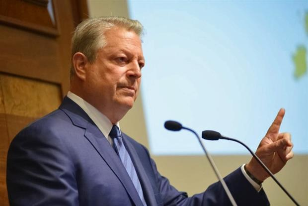 Speaking at an event in London Al Gore warned policy changes threaten to undermine the UK's international leadership