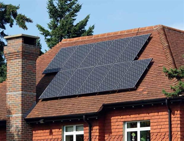 Solar power counts for the bulk of FITs payments and will be hardest hit by scheme cuts (photograph: Rob Hill/123RF)