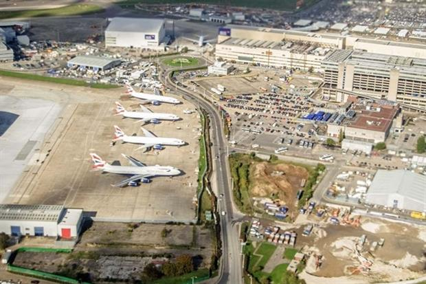 The expansion of Heathrow airport will impact air quality (photograph: basphoto/123Rf)