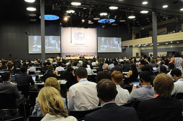 The preparation of the ADP's draft text is considered a major milestone on the road to Paris, but it will have to be finalised in a late October UNFCCC session (photograph: UN)