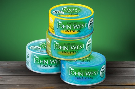 Greenpeace claims just 2% of John West's tuna catch is sustainable (Photo: John West)