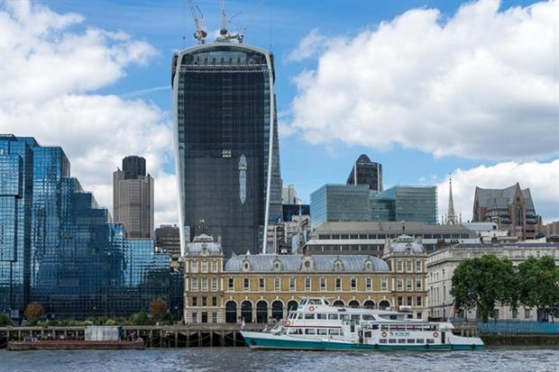 Land Securities' 'Walkie Talkie' building was awarded a BREEAM Excellent rating in 2011 (photograph: Philip Bird/123RF)