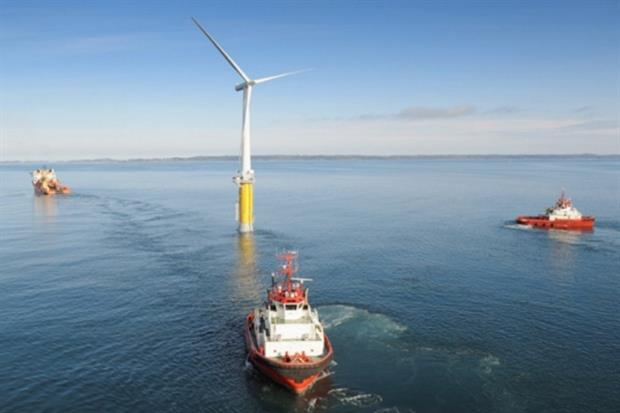 The project will follow on from Statoil's existing floating turbine, commissioned in 2009 (photograph: Statoil)