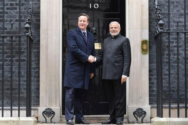Solar energy exports featured prominently in a joint UK-India statement in London on 12 November. Photo courtesy of Number 10