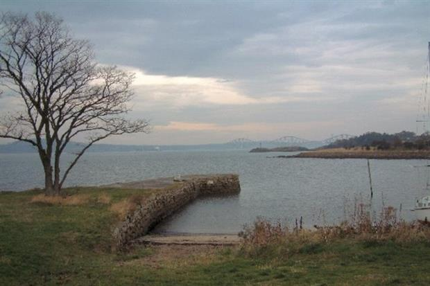 Dalgety Bay, next to a former airfield, is contaminated with radium from aircraft debris. Photograph: Bob Jones CC BY-SA 2.0