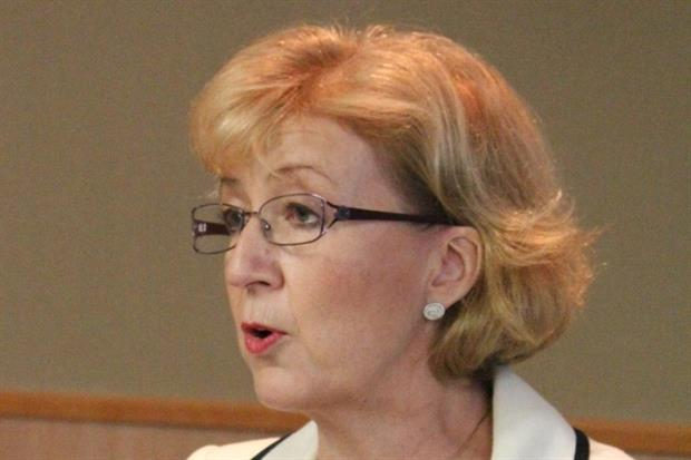 Energy minister Andrea Leadsom has announced that a planning decision on a carbon dioxide pipeline will have to wait another six months. Photograph: Policy Exchange CC BY 2.0