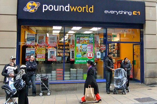 Poundworld has added a CRC penalty to litany of fines under consumer protection law. Photograph: James Cridland/CC BY 2.0