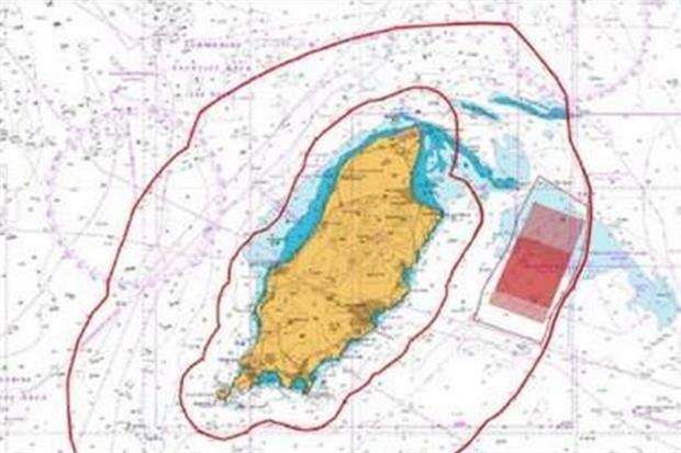 DONG Energy will investigate developing a block off to the east of the Isle of Man. Image: Isle of Man government