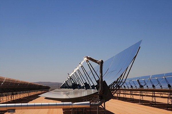 The initiative should help accelerate research into low carbon energy such as concentrated solar power from arid regions. Photograph: Tom Grundy/123RF