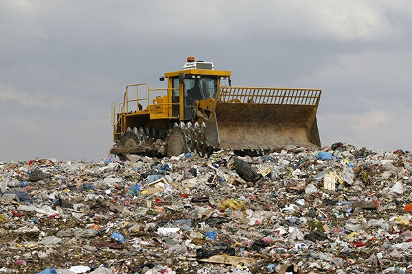 Household waste sent for landfill in 2014/15 fell by 8.3% on the previous year. Photograph: Picsfive/123RF