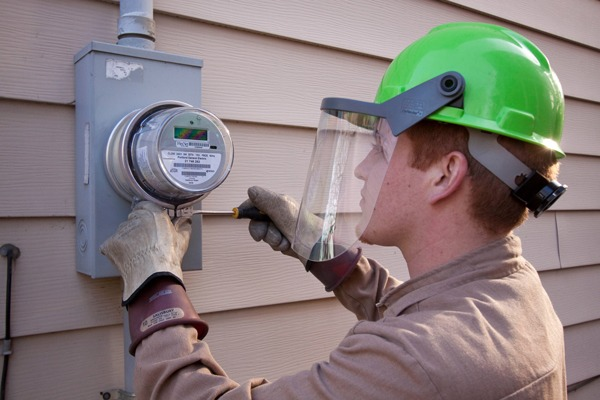 At least seven million smart meters will be installed with the funding. Photograph: Portland General Electric/CC BY-ND 2.0