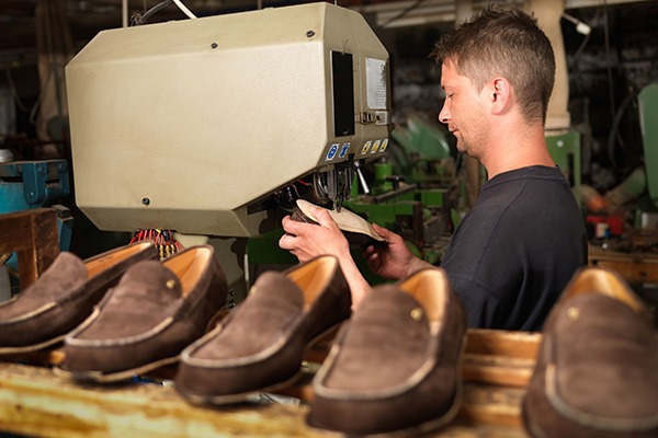 Shoe manufacturing is one of the sectors potentially affected by the new BREF proposal. Photograph: Comaniciu Dan/123RF