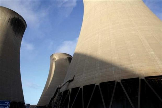 Drax is planning to install SNCR and other systems to cut its nitrogen oxides output. Photograph: Drax Power
