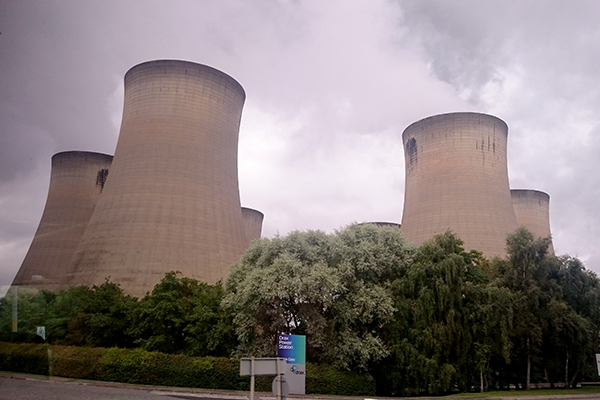 Drax power station is one of 135 plants included in the transitional national plan
