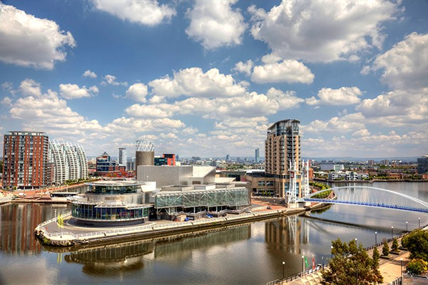 An earlier version of the north-west England river basin management plan was credited with helping clean up Salford docks. Photograph: Natasha Walton/123RF