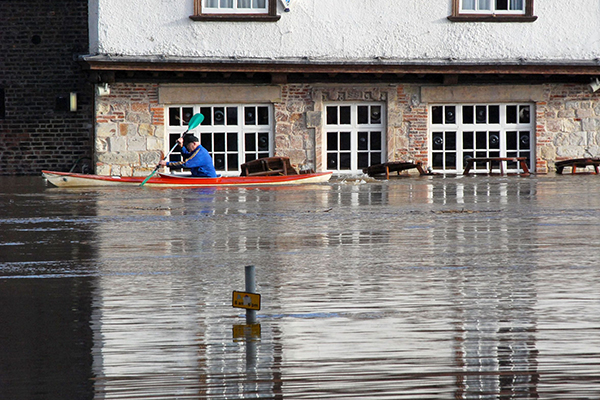 The government's flood recovery budget has hit £200m so far. Photograph: ronfromyork/123RF