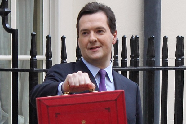 Osborne had few surprises for the environmental world, but he did announce some notable measures on energy efficiency, landfill and flooding. Photograph: HM Treasury