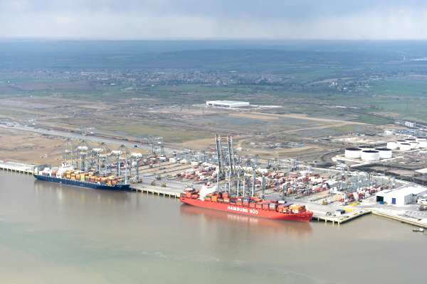 The Thames Gateway Port is now operational. Photograph: DP World