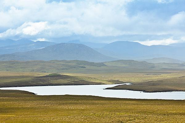 Peatland on the Scottish isle of Lewis. Photograph: Agenturfotografin/123RF