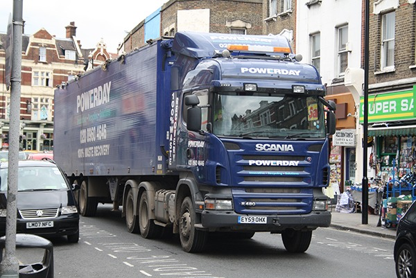 Powerday commited offences involving large quantities of hazardous waste at its main site in Willesden. Photograph: EDDIE/Flickr