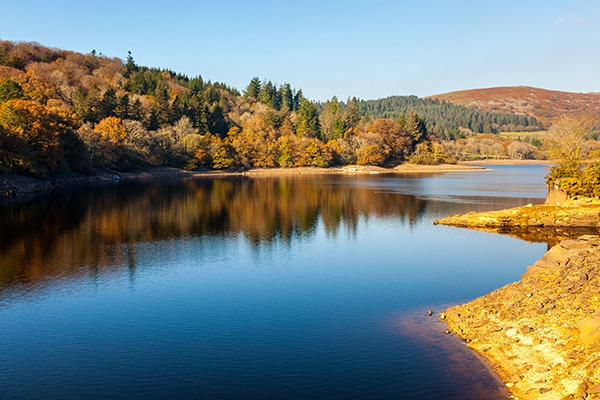 Burrator Reservoir on Dartmoor National Park. Photograph: Ian Wool/123RF