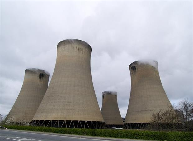 Drax power station was a major participant in the NERP. Photograph: Andy Beecroft CC BY-SA 2.0