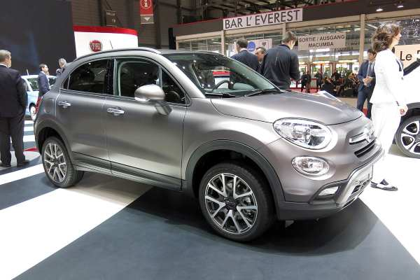 The Fiat 500X is alleged to stop an emissions abatement system working after 22 minutes of driving. Photograph: Norbert Aepli CC BY 4.0