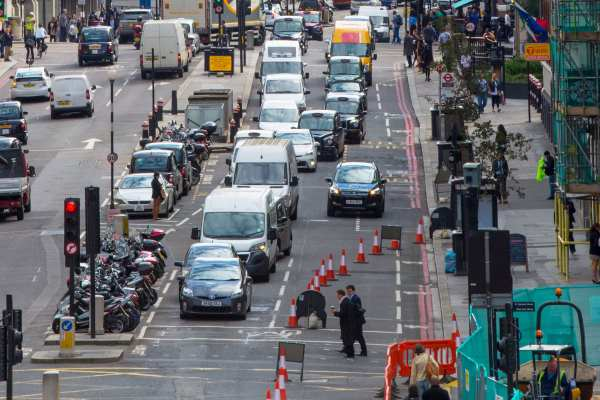 The MPs called on DEFRA to help local councils tackle road transport pollution through stronger clean air zones. Photograph: irstone / 123RF