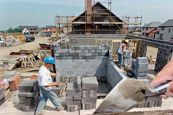 Loss of by-products from coal-fired capacity will affect cement and concrete products used in building applications. Photograph: Gary DoakAlamy