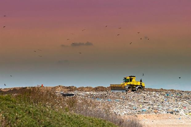 Some coastal landfill sites are vulnerable to erosion and flooding. Photograph: Chris Elwell/123RF