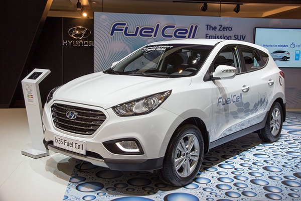 Hyundai has launched hydrogen vechiles in the UK. Photograph: jvdwolf/123RF
